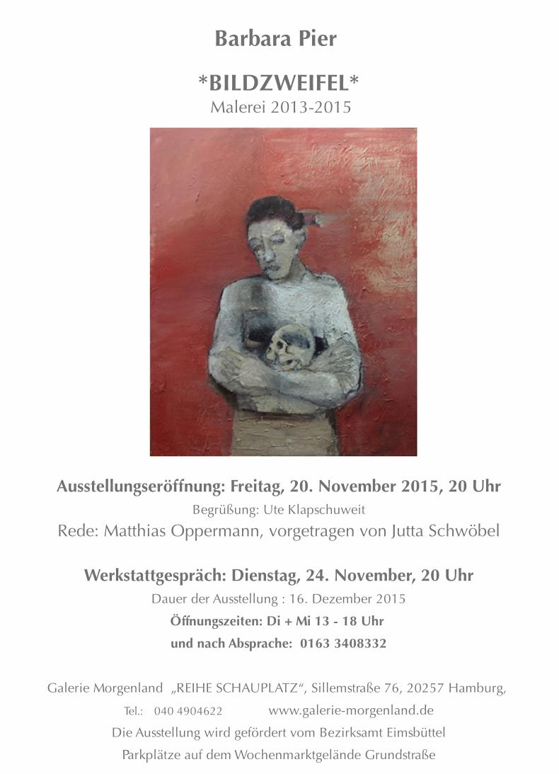 Barbara Pier – Bildzweifel – Malerei 2013-2015